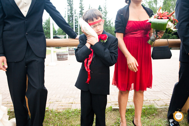 Goofy ring bearer photos wedding