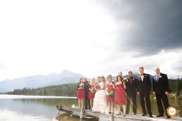 Nakoda calgary wedding photo