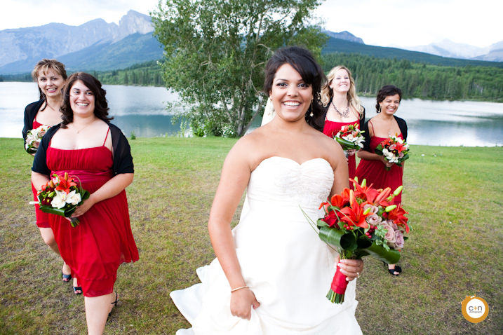 Bridesmaids Calgary photo