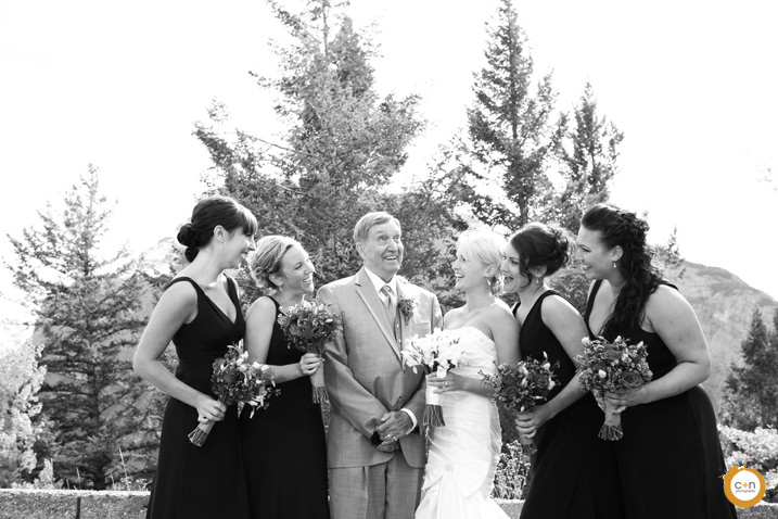 tunnel mountain wedding