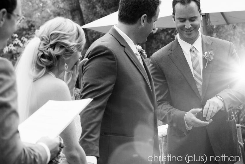 River Cafe Wedding Ceremony - Fall Photos
