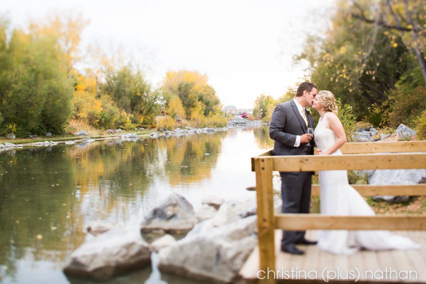 Wedding Photos in Prince's Island Park