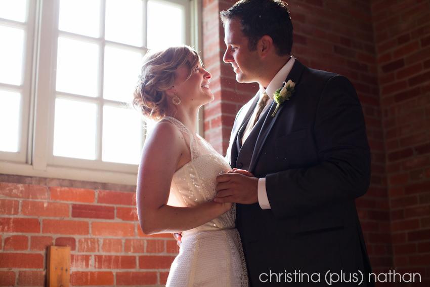 Top Calgary wedding photographers - brick