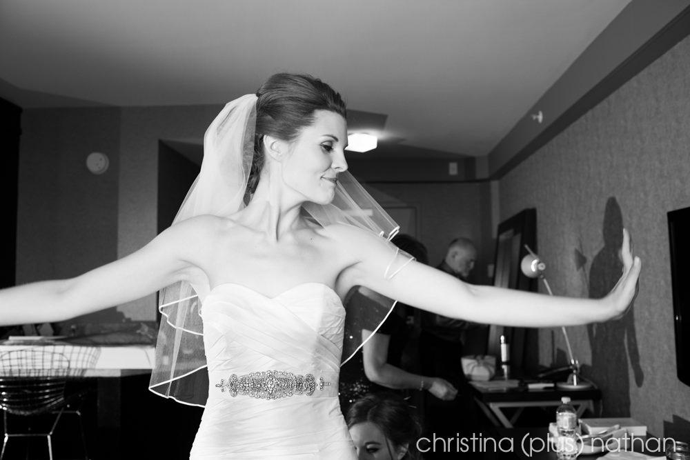 Calgary Hotel Wedding Photos