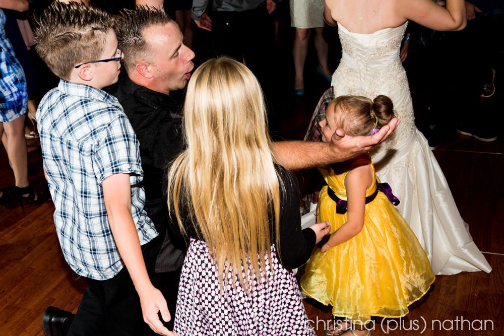 Hotel Arts Wedding Reception Pictures