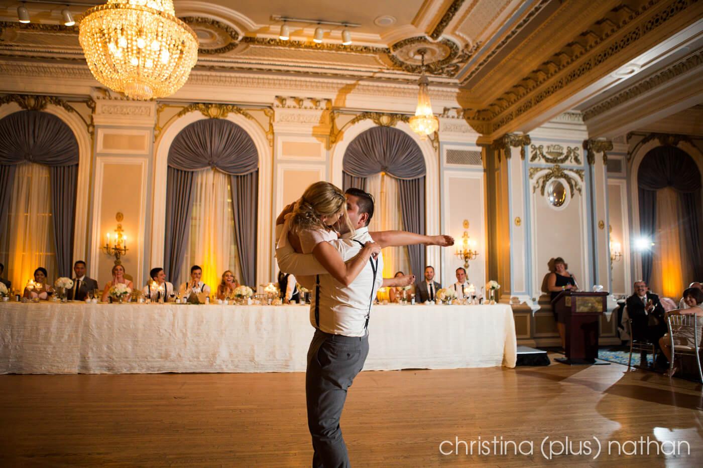 Crystal Ballroom reception