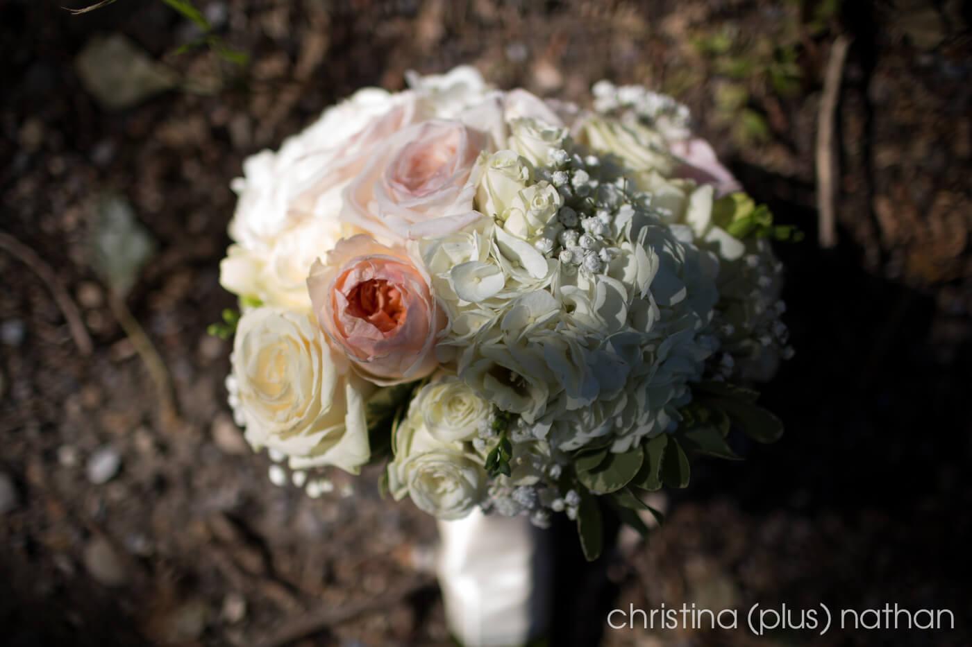 Flowers at calgary wedding