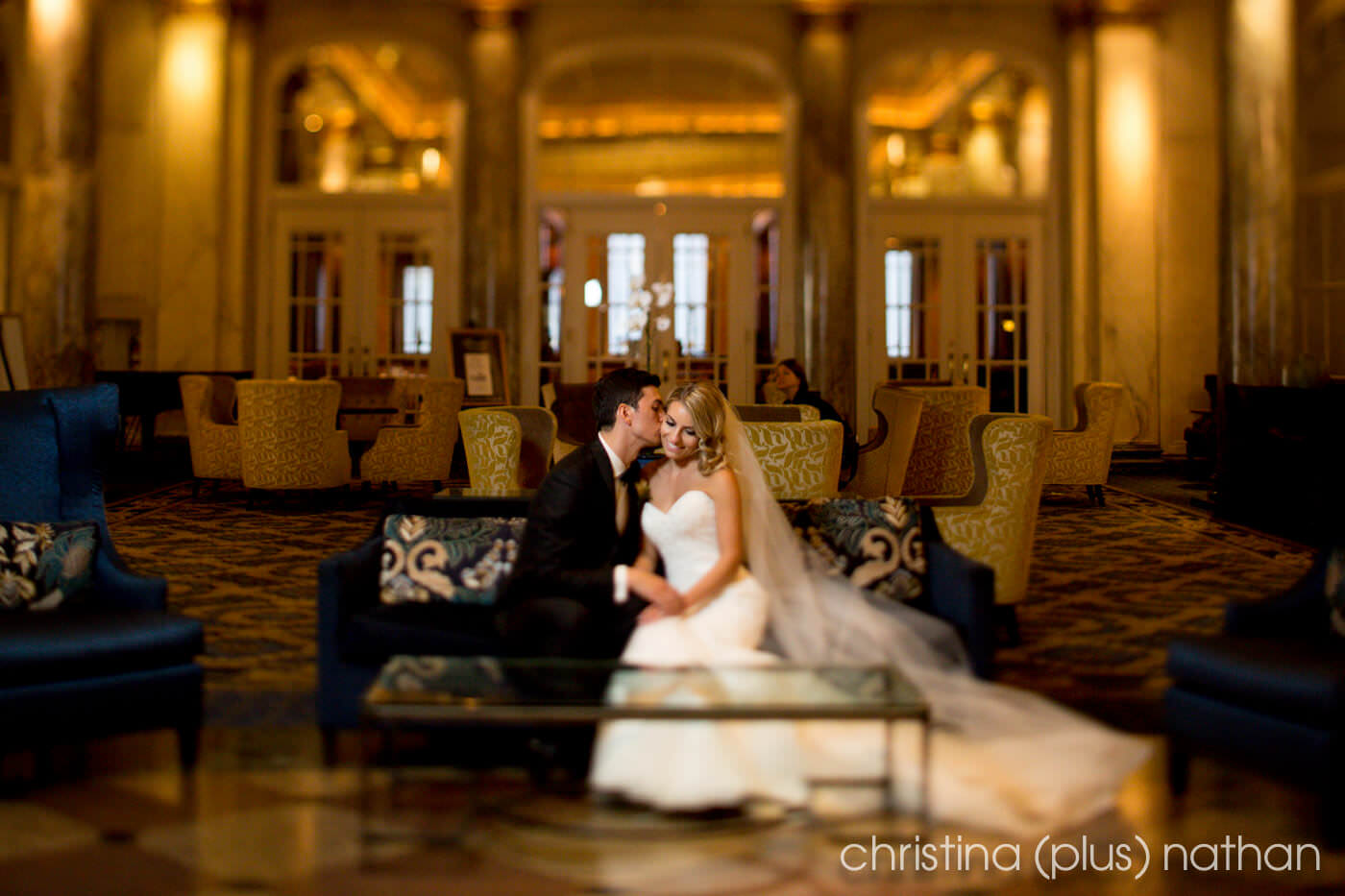 Palliser hotel wedding photos