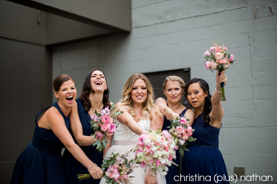 Blue-Pink-Bridesmaids
