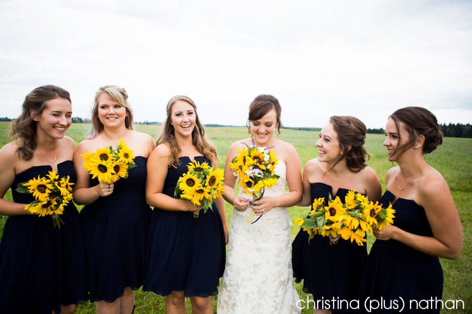 Wedding-sunflowers-calgary