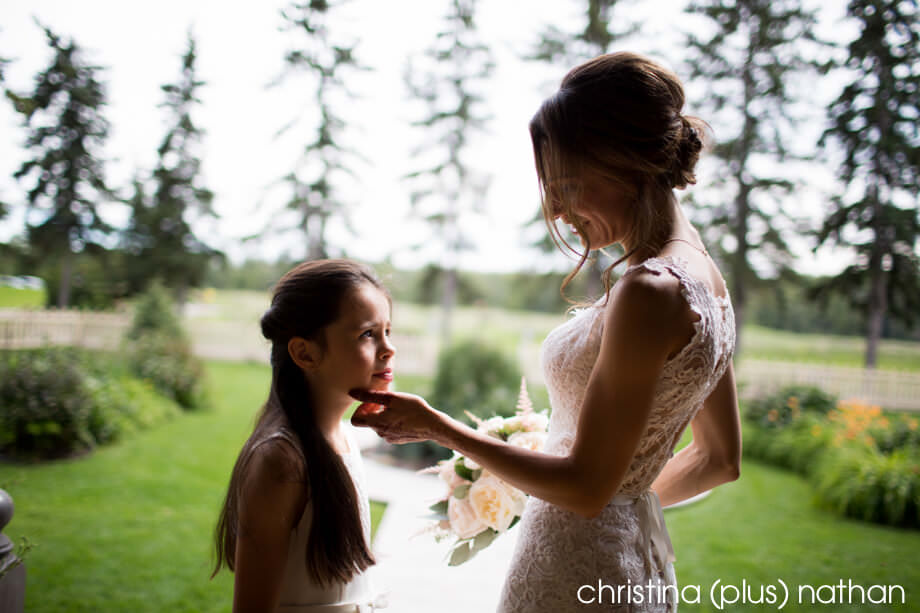 Bow Valley Ranche wedding photos