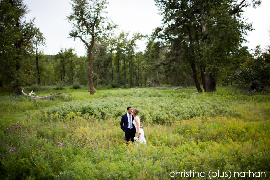 Fish Creek park wedding photos in the summer