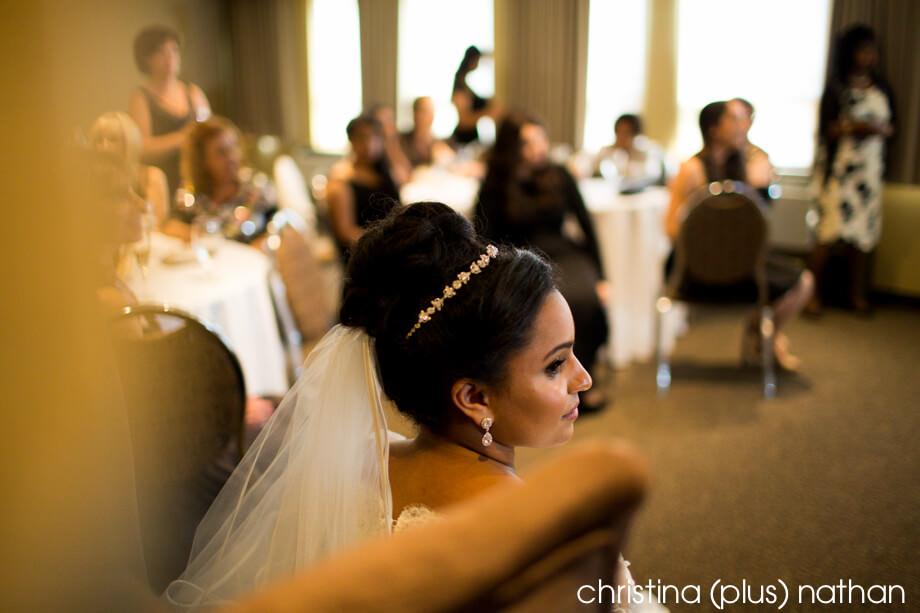 Bride at Bedeken Ceremony