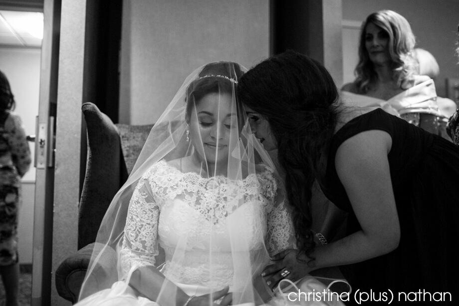 Bedeken wedding ceremony Carriage House Inn