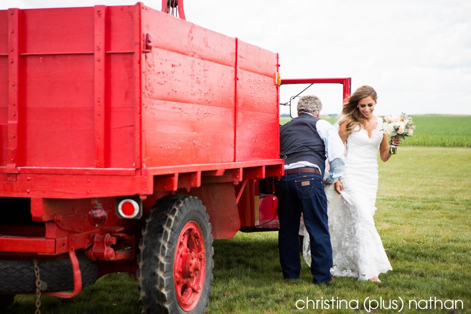 Wedding at Willow Lane Barn