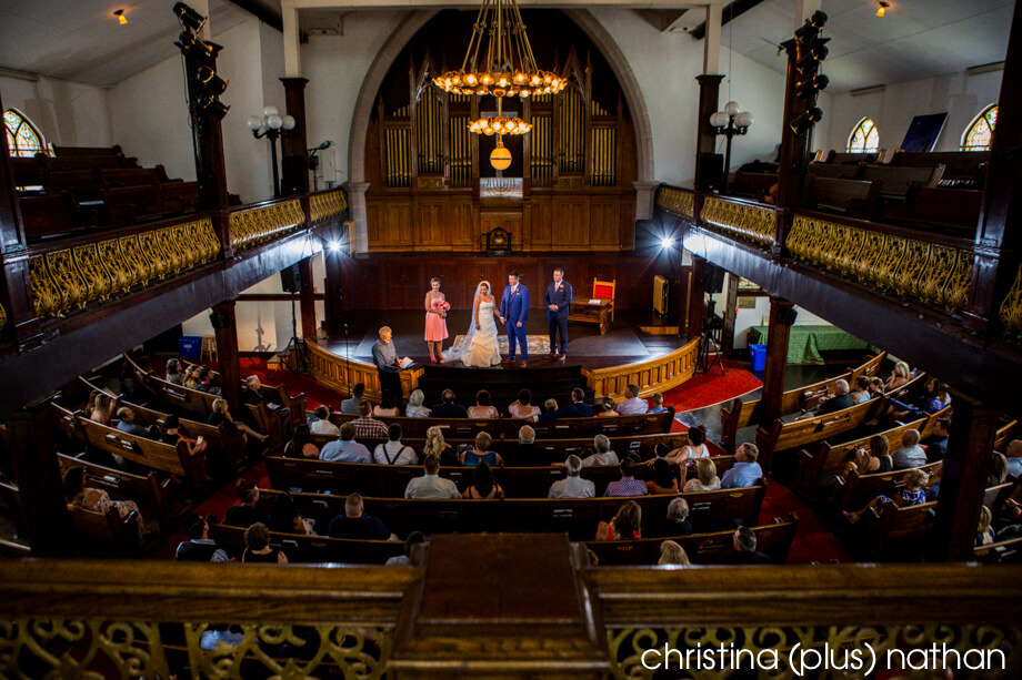 Lantern community Church Wedding