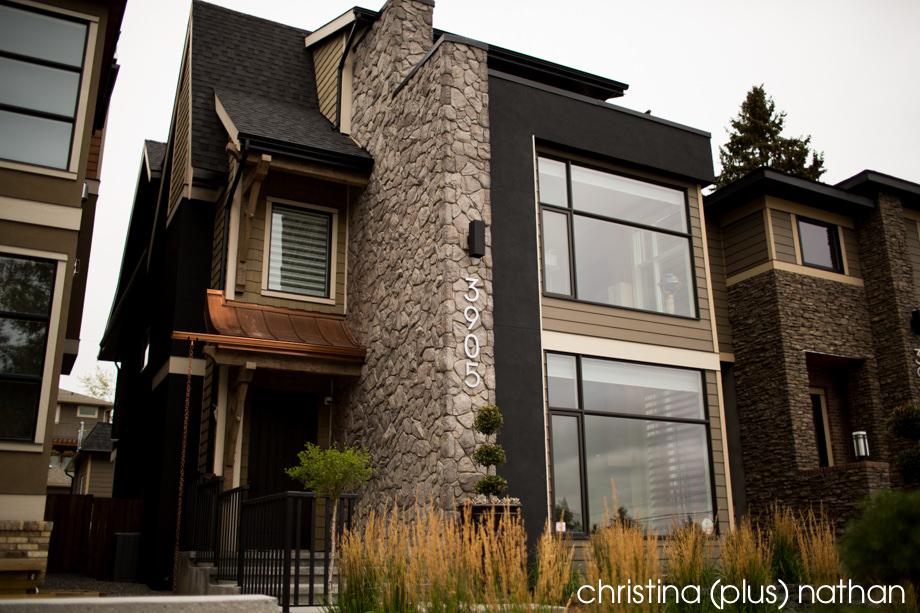 Calgary wedding preperations in Altadore