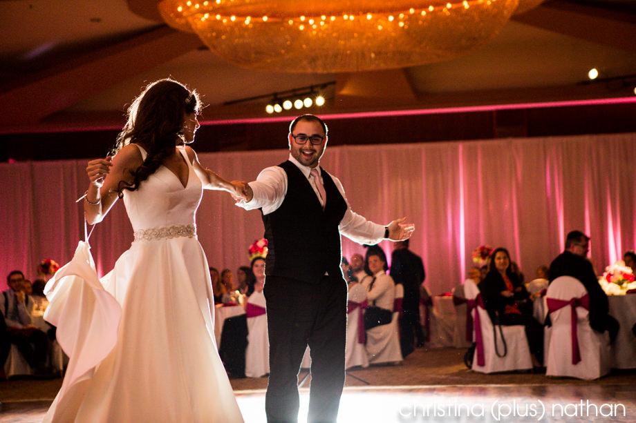 Calgary jewish wedding first dance