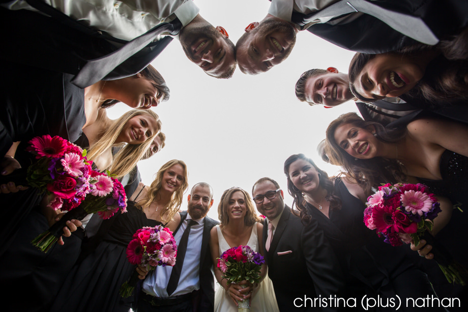 Wedding party in Calgary wedding