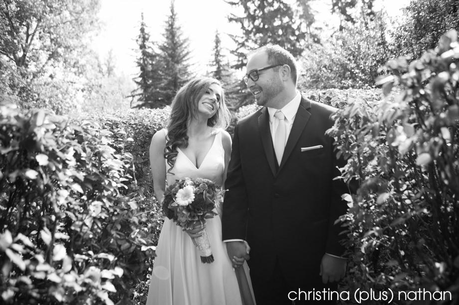 Calgary Gerry Shaw Gardens Wedding