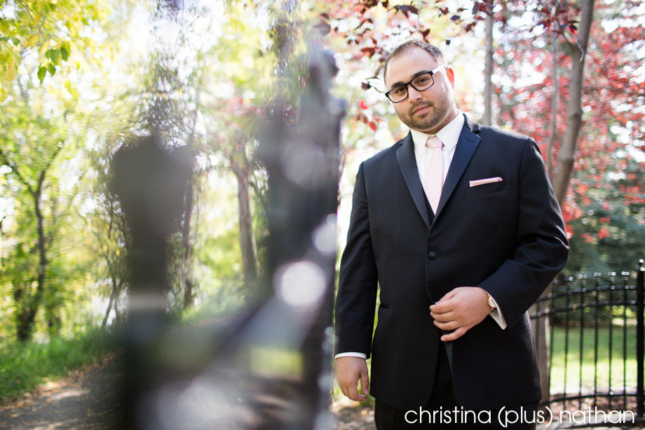 Groom photo at Gerry Shaw Park