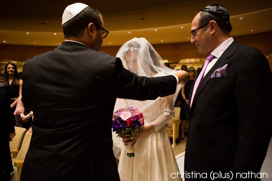 Beth Tzedec wedding