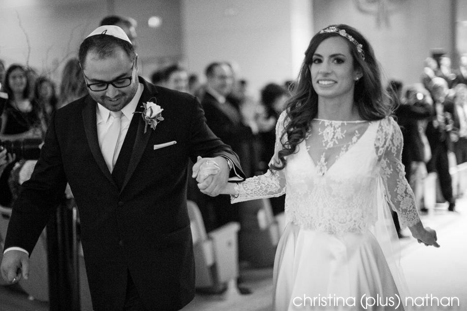 Calgary Beth Tzedec wedding