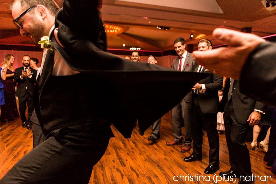 Dancing at the hora in Calgary