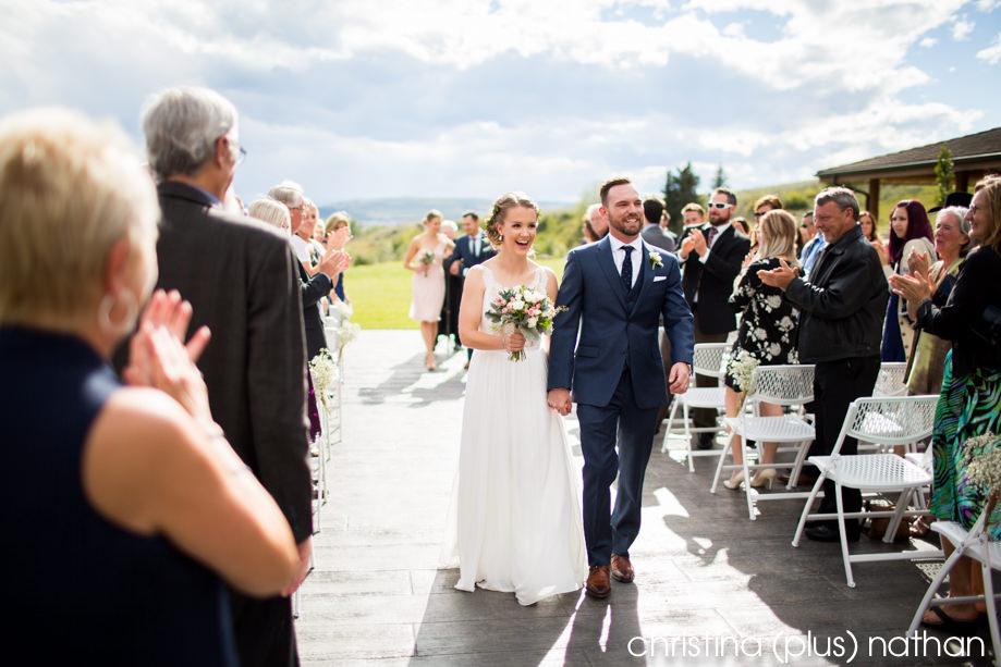cochrane ranchehouse wedding ceremony photo