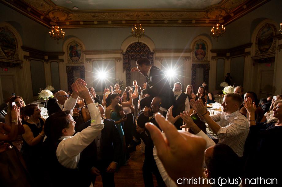 Dance floor Alberta Room
