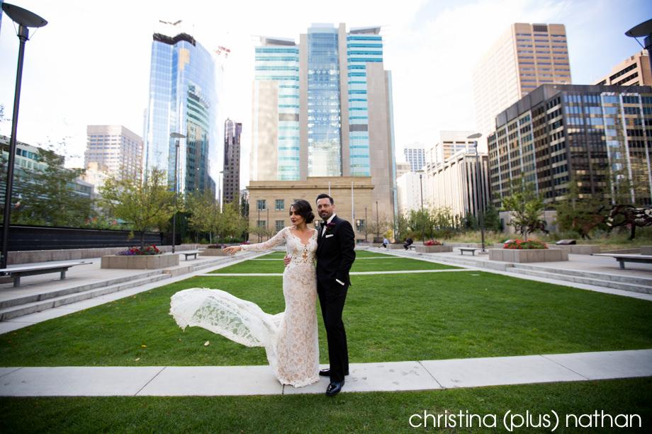 Wedding photos in Calgary