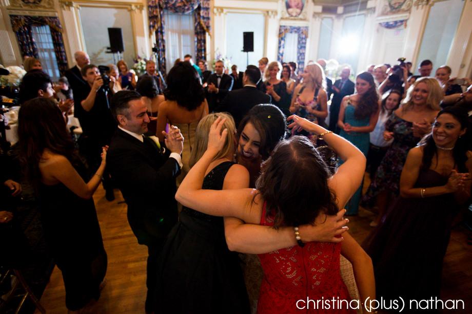 Dance floor in the Alberta room