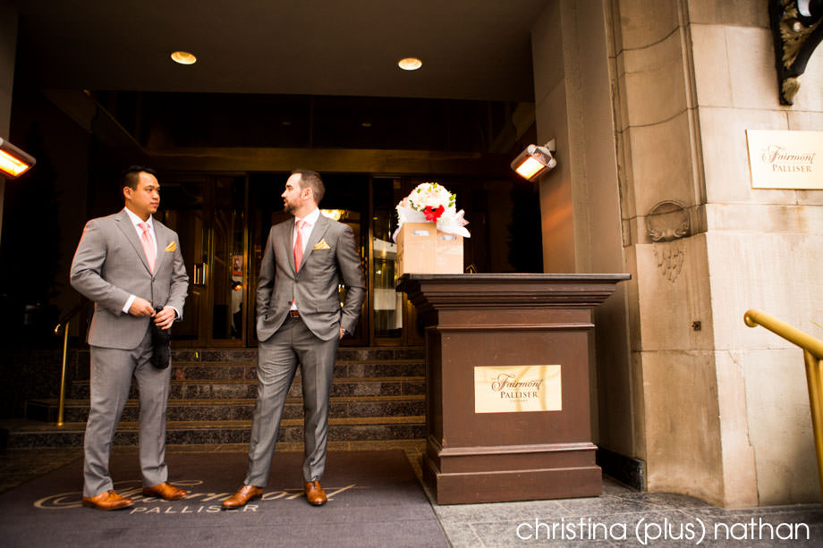 Calgary Fairmont Palliser Wedding