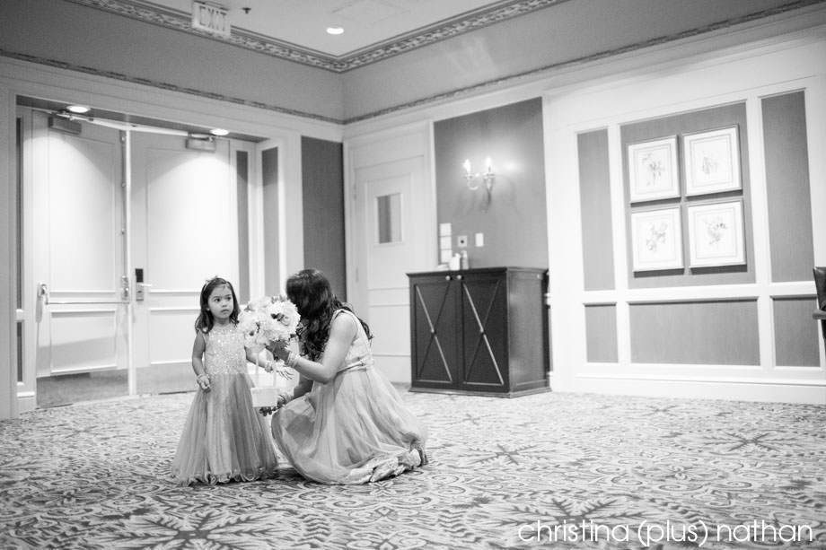 Flower Girl in Turner Valley Room