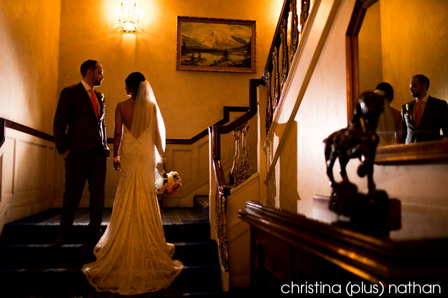 Calgary wedding photographer at Fairmont Palliser Hotel