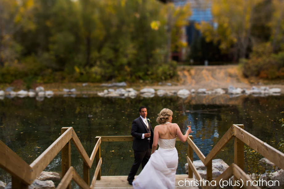 River Cafe Fall Wedding
