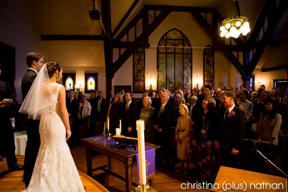 Ceremony in Calgary Hillhurst Church
