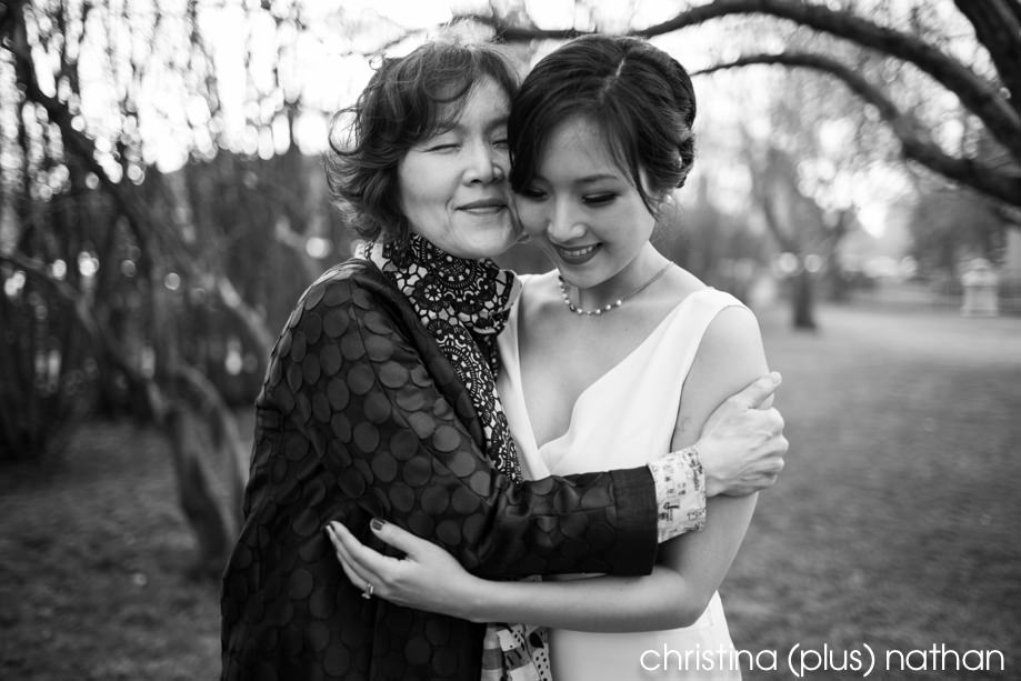 Mother and Daughter wedding