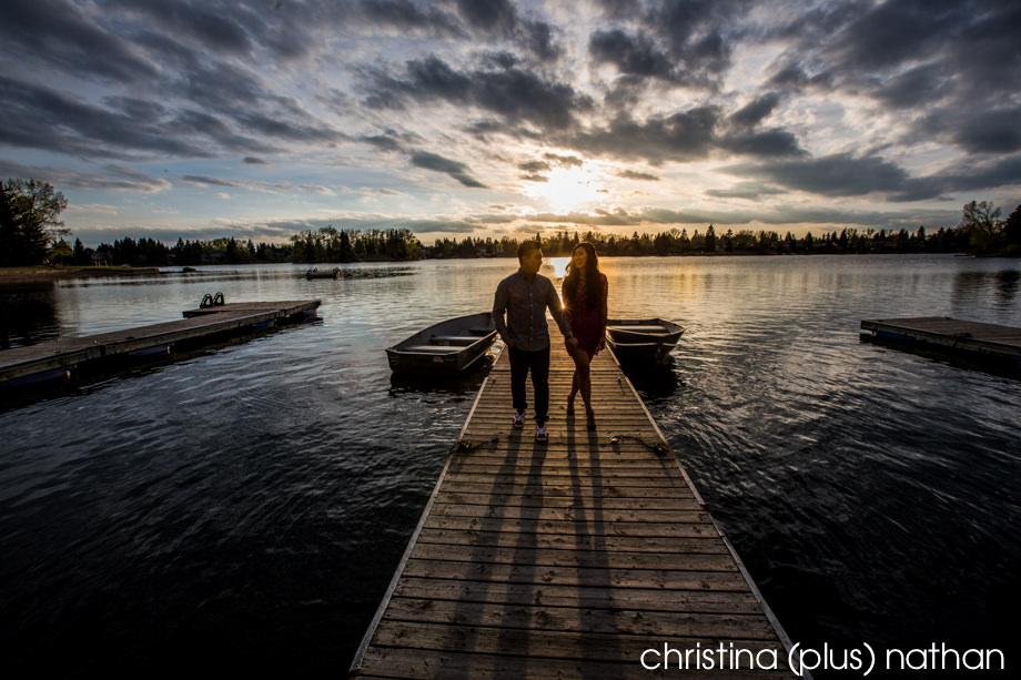 Lake Engagement in Calgary