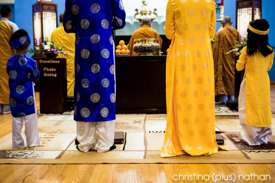 Calgary Buddhist wedding