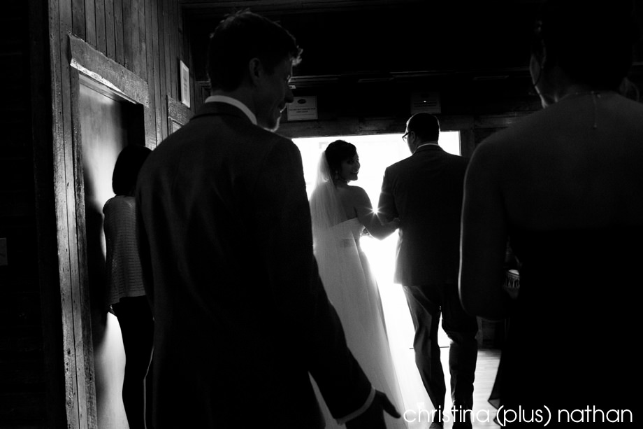 Wedding ceremony indoors