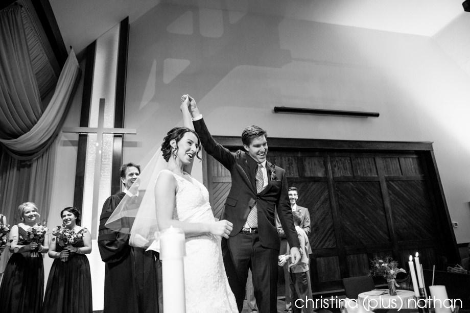 Calgary church wedding