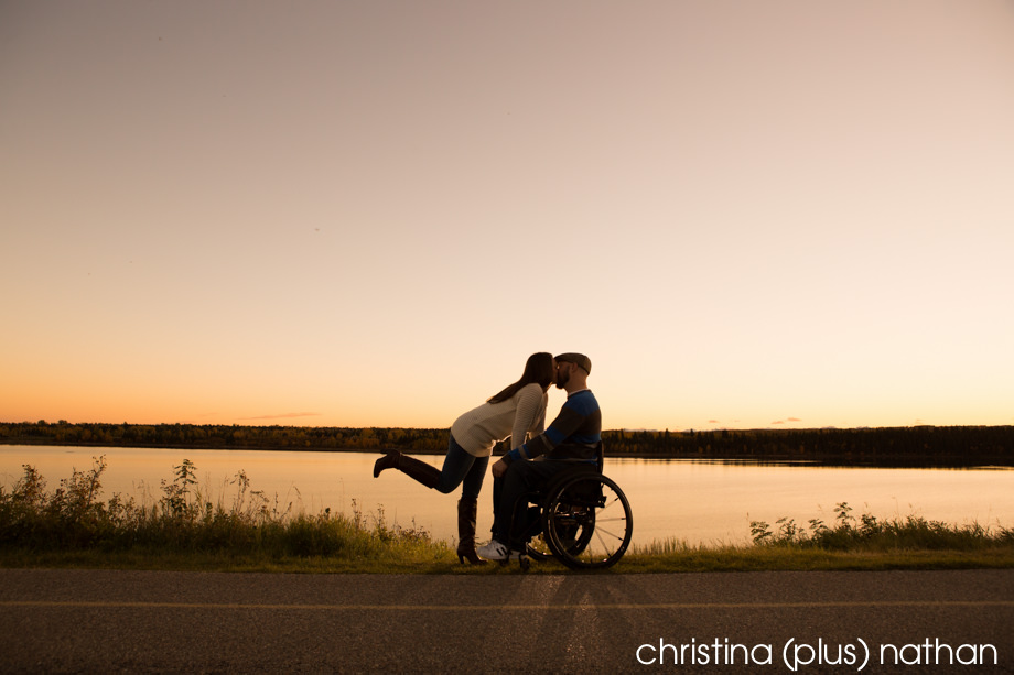 Engagement Photography Wheelchair