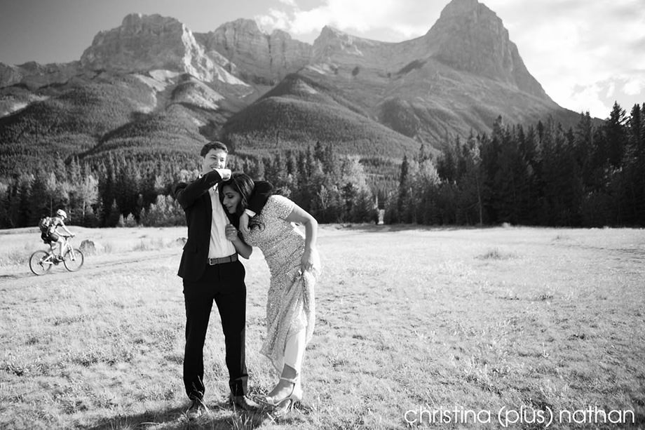 Quarry Park Engagement Canmore