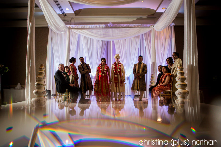 Photography of hindu ceremony in Westin hotel downtown Calgary