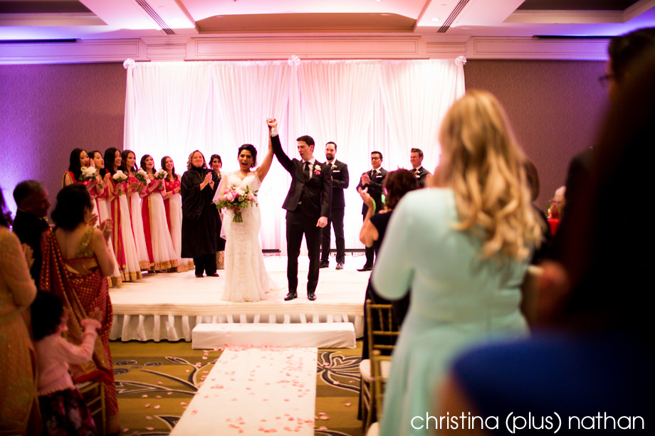 Wedding photographers in Calgary Westin Hotel