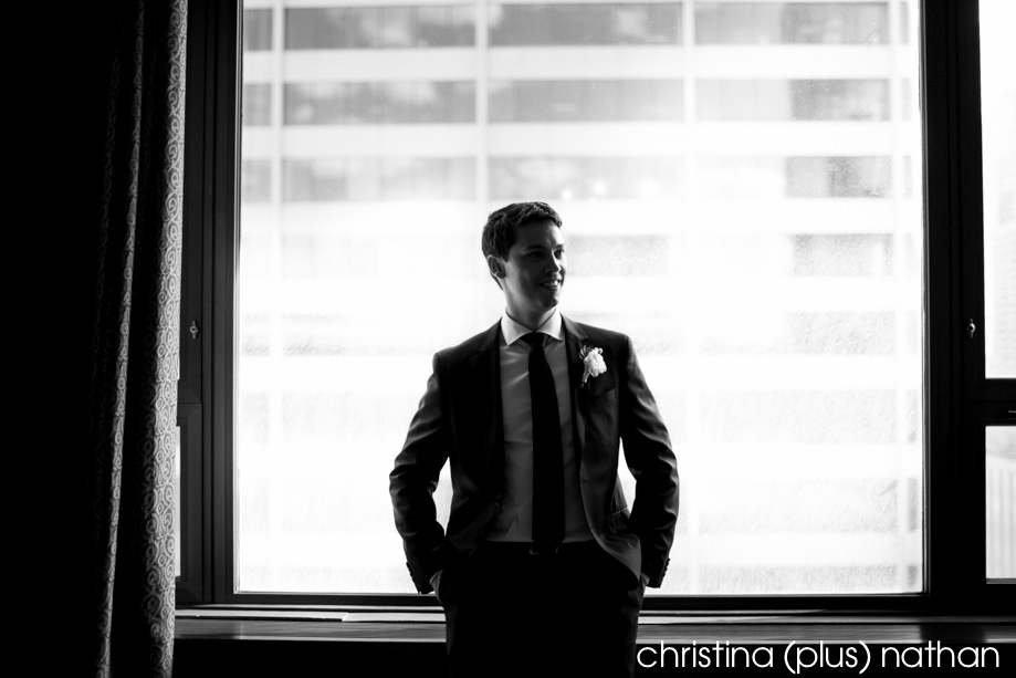 Groom at Westin Hotel