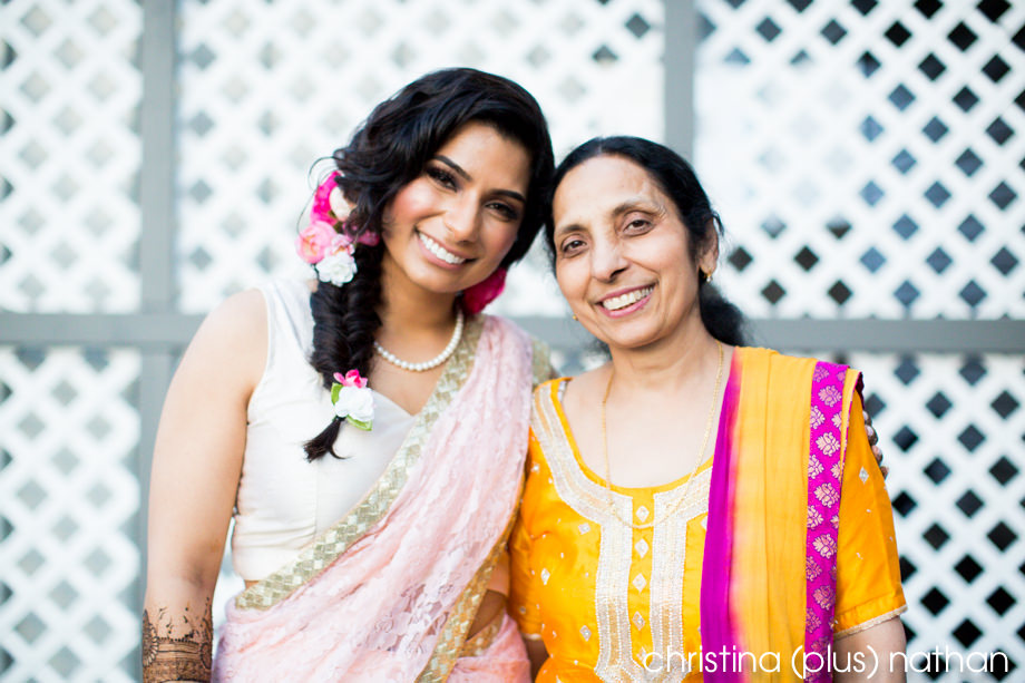 Indian Hindu Wedding Bride and Mom
