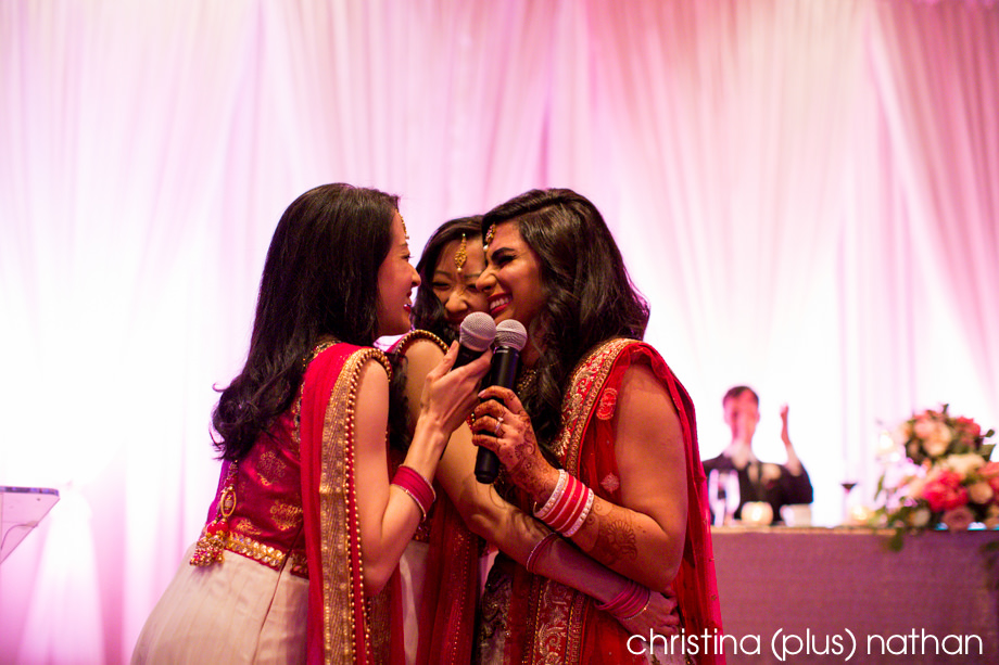 Calgary Indian wedding reception