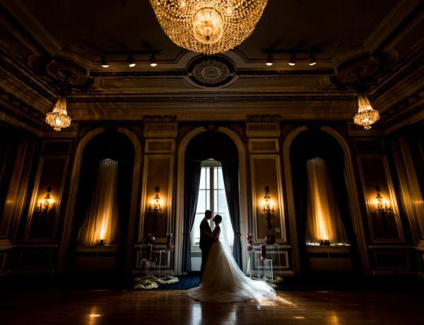 Calgary wedding Photographers Palliser Hotel